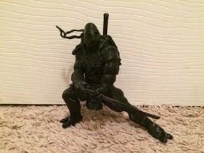 TMNT Leonardo Figure Model