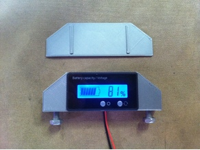 Battery Voltmeter Housing Cover Mount