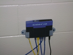 Box holder clamp