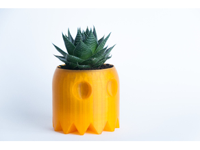 Ghost Pacman Planter