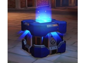 Overwatch Archives Lootbox (includes 3 different lids)