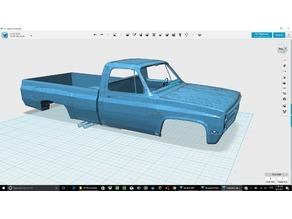 Remix K10 Silverado Single Cab For RC Truck