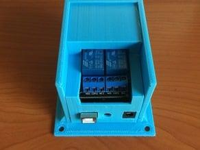 Arduino UNO + 2 Channel Relay Enclosure
