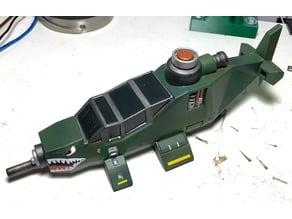 Grav-Chopper Remix (Multple parts with Connectors)