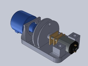 DIY multi-turn servo pulley