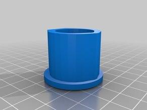 "Vertical Paper Towel Holder - 1/2"" PVC pipe"