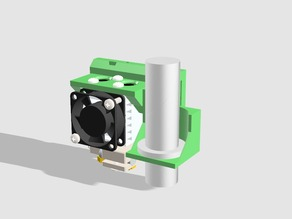 Chimera/Cyclops mounting system for the Smartcore 3D Printer