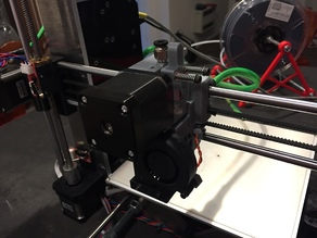 Prusa i3 extruder modified for MK8