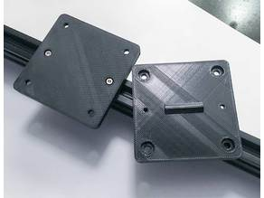 2020 extrusion mounting plate
