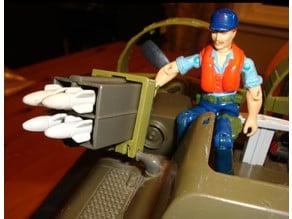 1980's RAH GIJOE WHALE Missile Assistant Upgrade