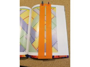 Quilting Pattern Guide - Vertical Columns