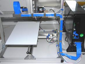Cable holder for aluminium profile struts 20x20x6