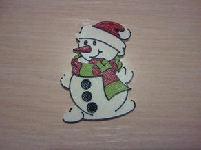 Snowman Fridge magnet