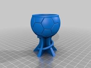 Footbal Shotglas 0,4cl