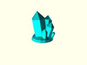 Crystal Quartz Jewelry Desk