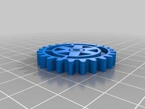 Rotary Wheel Keychain