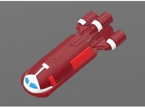 Senator's Shuttle (Resized)/Traveller RPG Launch