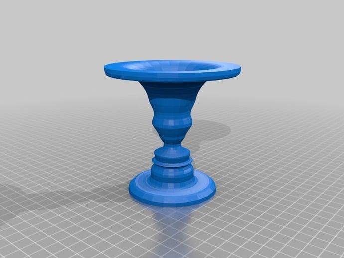 Rubin Vase By Mikasarkinjain Thingiverse