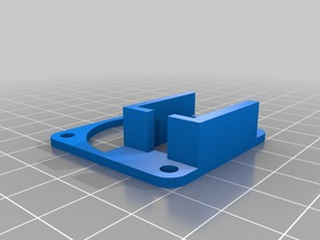 Radial fan adapter w/ collar