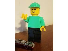 Face for Jumbo Lego Man