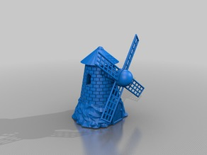 windmill functional / 40inch 110mm height - alternate windblade