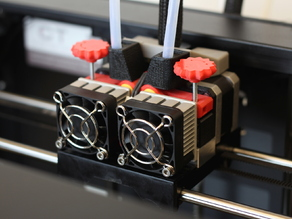 Adjustable Extruder Drive Block Upgrade for Replicator 2X