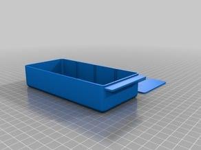 My Customized Storage Box rusty blue