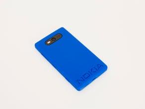 Nokia Logo Case - Nokia Lumia 820