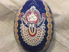 Eggbot Ukrainian Design