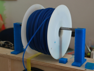 filament holder for prusa i3 (1kg spool)