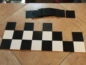 Chess board puzzle