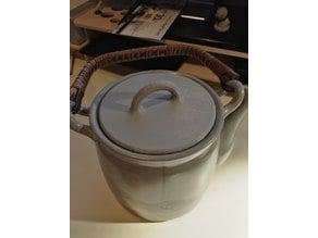 Teapot lid cover