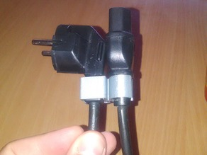 """Device side"" power cable Holder"