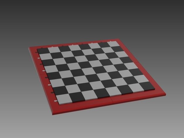 picture relating to Chess Board Printable referred to as Printable Chess Board by means of Matthew1 - Thingiverse