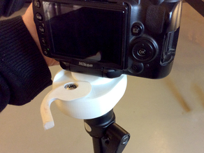 Camera Quick Release for Tripod