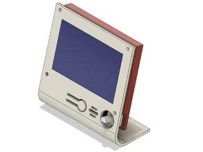 Minimalist LCD full graphic case