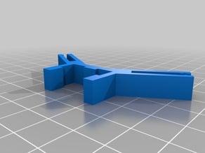 Kossel 2020 3mm Wall Clip