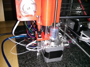 Prusa i3 Z axis mount for optical endstop