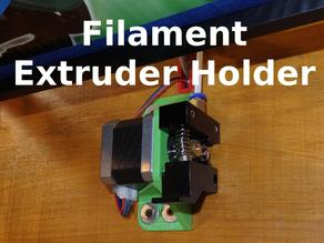 Filament Extruder Holder - X5S and Others