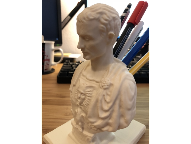 Julius Caesar Pencil Holder Enchanting Julius Caesar Improved PenPencil Holder By Weevilinc