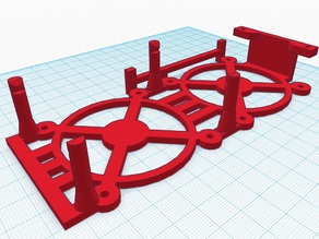Melzi V3D Cooler bracket