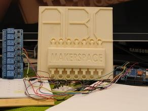 ABC Makerspace 3D Logo