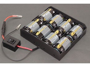 12V Dry Cell Battery Box ( 8D-size)