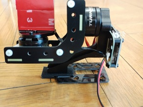 Support ZM250 Turnigy Mobius 2 Axis Gimbal