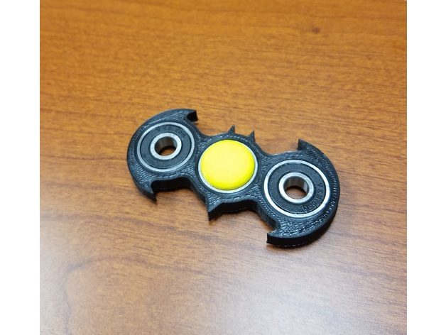 Batman Fid Spinner Fixed by Brizzle Thingiverse