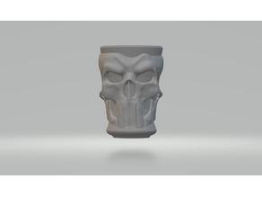 Mug skull punisher