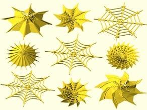 Spider web generator