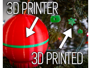 Christmas Ornament 3D Printer