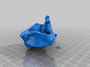 Glitch 02 (clay and 3D scan glitch)