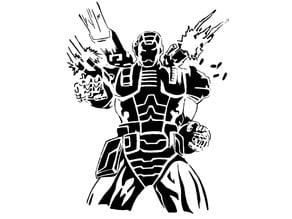 War machine stencil
